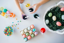 Easter Egg Painting Table Top