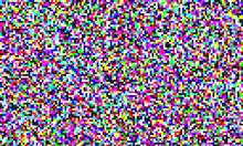 TV Pixel Noise Of Analog Chann...