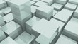 4k,abstract 3d metal cubes animation background.