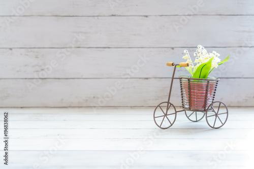 Foto op Plexiglas Fiets 自転車の雑貨