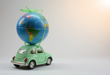 Miniature Toy Car Carrying A S...