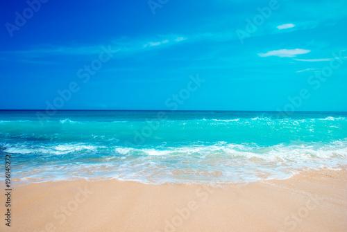 The Dreamland beach in Bali, Indonesia Canvas Print