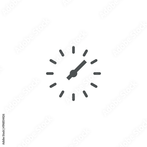 Fototapeta clock icon. sign design obraz na płótnie