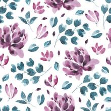 Blossoms Collection. Watercolo...