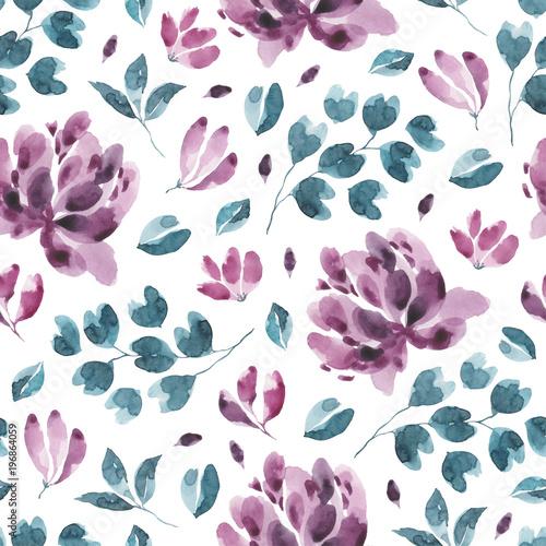 kolekcja-kwiatow-akwarela-kwiat-i-kwiatowy