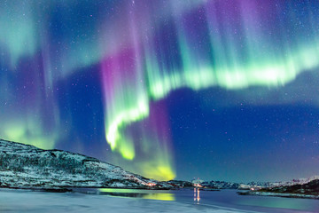 Fototapeta Krajobraz Northern lights