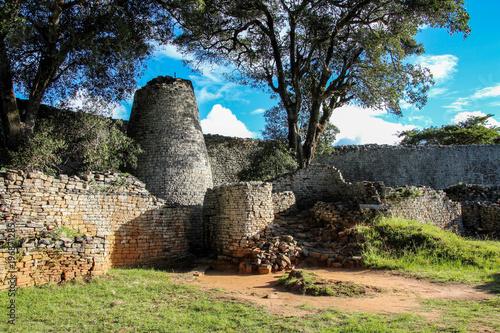 Foto The Great Zimbabwe ruins outside Mavingo in Zimbabwe