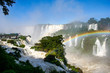 Iguassu Falls on the border between Brazil and Argentina