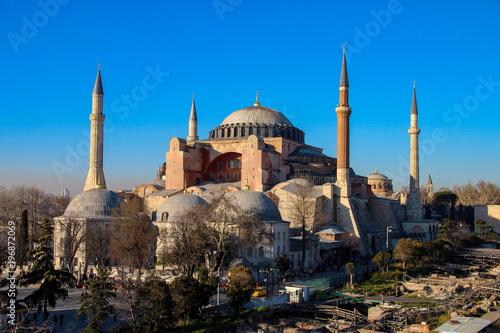 Leinwand Poster  Hagia Sophia in Istanbul, Turkey