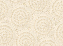 Background With Crochet Circles