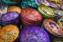 Beautiful Colorful Arabic Bowls
