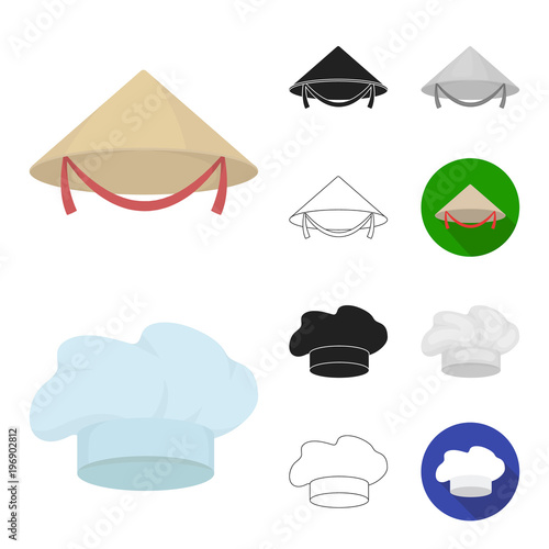 Headdress vector symbol stock web illustration. By pandavector. Different  kinds of hats cartoon 7d8466c3ae8f