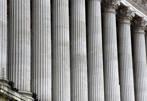 Fototapeta Korinthische Säulenreihe des neoklassizistischen  Vittorio Emanuele