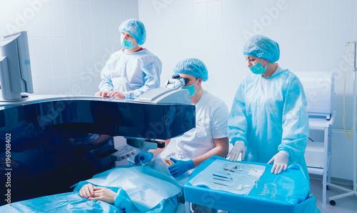 Fotografie, Obraz  Laser vision correction