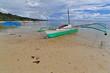 Balangay or bangka boats stranded on the beach. Punta Ballo-Sipalay-Philippines. 0306