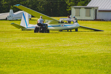 Glider And Tow Plane In Action...