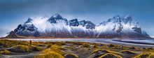 Vestrahorn Mountain Range And ...