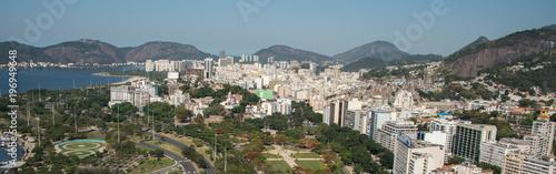 Photo sur Aluminium Seoul Aerial view over Rio de Janeiro