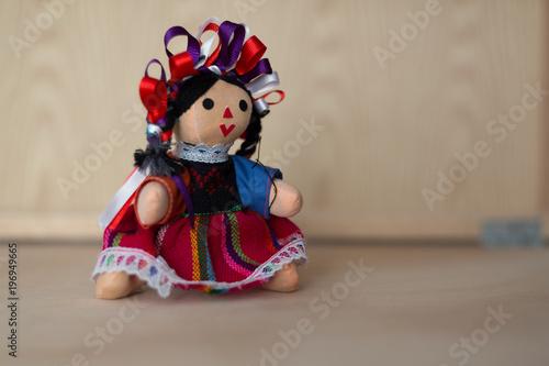 Fotografía Rall doll, mexican crafts