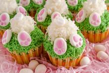 Bunny Butt Lemon Cupcakes East...