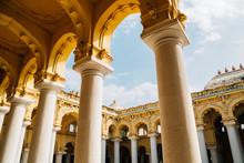 Thirumalai Nayakkar Palace In Madurai, India