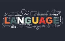 Design Concept Of Word LANGUAG...