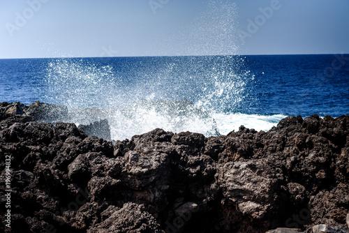 Fotobehang Kust Tenerife north coast