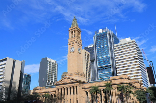 City Hall Museum of Brisbane historical architecture Australia