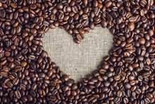 Textured Background Of Coffee ...