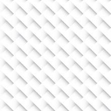 Square Interweaving. Vector Seamless Background