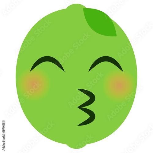 Kussmund emoticons Pyramid Emoji