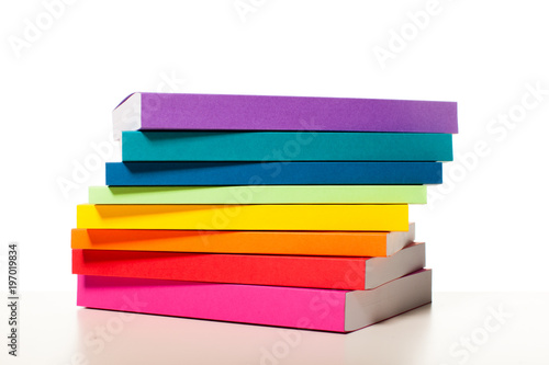 Fotografía  Colorful collection of the books