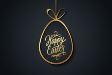 Easter Celebrate Banner With G...