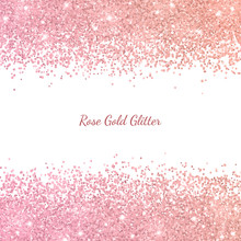 Rose Gold Glitter With Color E...