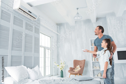 Climate control Canvas Print