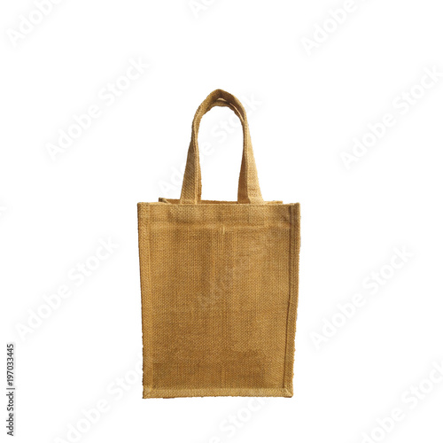 30de36734aa Sack bag or shopping bag empty Patterned collectionisolated on white  background