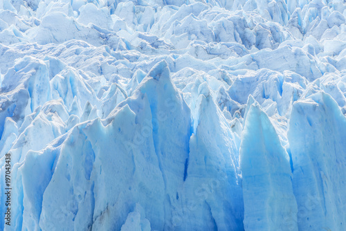 Photo sur Toile Glaciers Detail of Perito Moreno Glacier in Argentina