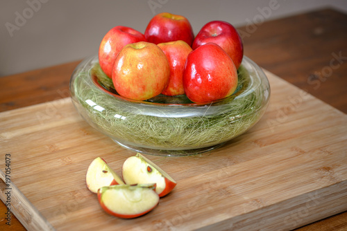 Plakat jazzowe jabłka