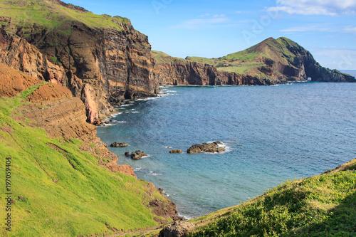 Fotobehang Kust East coast of Madeira island ? Ponta de Sao Lourenco