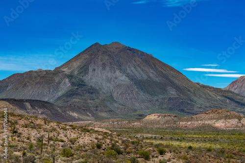 volcano Las Tres Virgenes Baja California Sur panorama