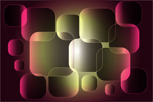 Abstract Composition Of Square...