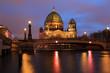 Berlin Cathedral , Berliner Dom at night, Berlin ,Germany