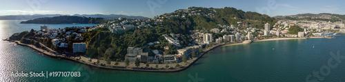 Foto Wellington Panorama, Evans To Oriental Bay