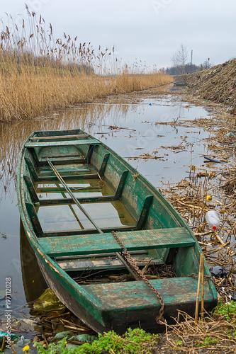 wooden river boat