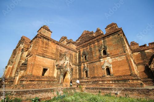 Poster Monument Dhammayangyi temple, Bagan, Myanmar