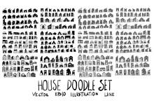 Set Of Vector Doodle Drawing C...