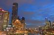 Melbourne skyscrapers downtown cityscape Australia