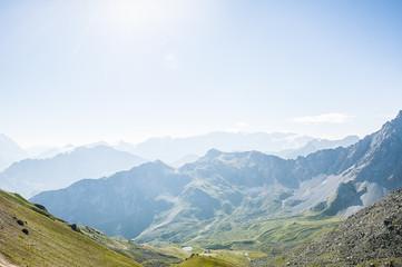 Paysage de montagne, alpes
