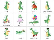 Green Dragon English Verbs