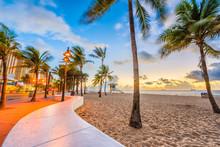 Ft. Lauderdale Beach, Florida, USA